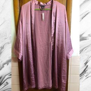 Victoria's Secret Blush Polyester Robe